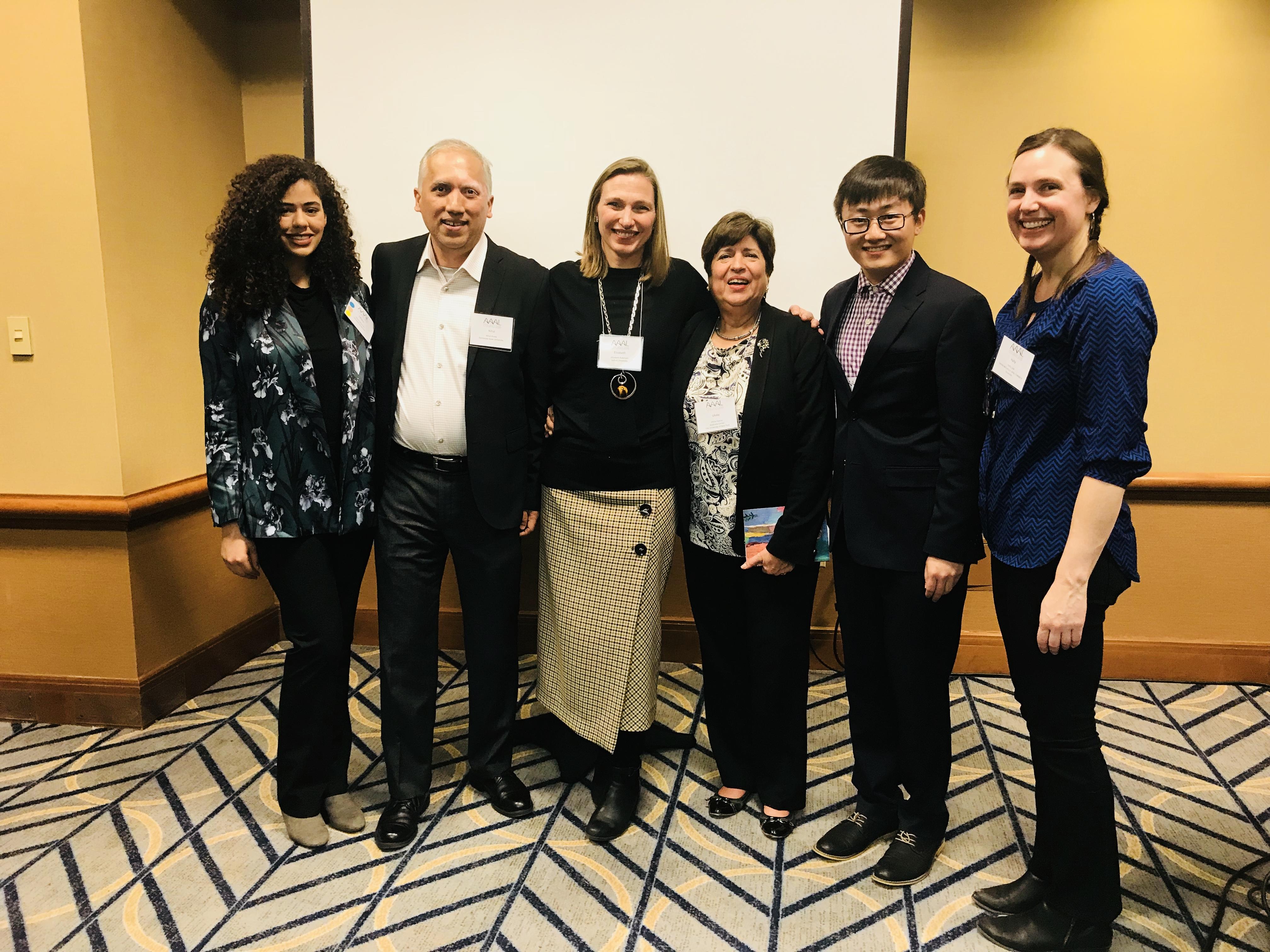 AAAL18 Panel Group Photo