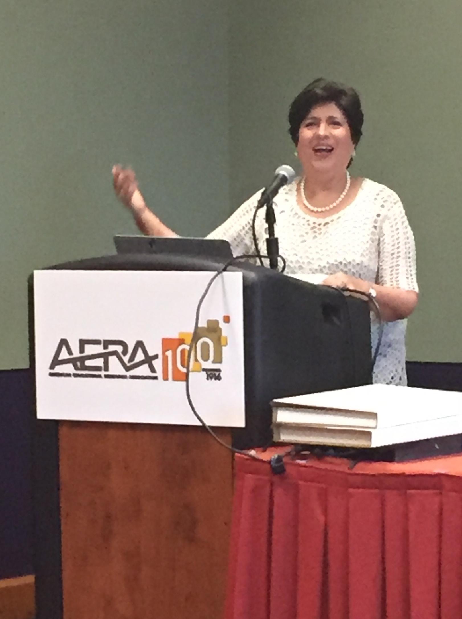 AERA Ofelia Achievement Award 3